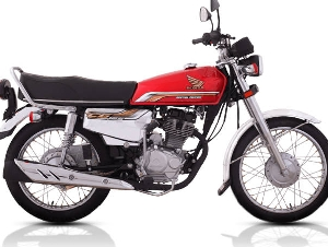 Honda CG-125 Self Start Special Edition Zubair Honda Carporation Tail Indus Bike home Delivery