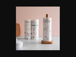 50 sheet/roll Reusable Lazy Rag Bamboo Towels Kitchen Dish Cloth Paper Towel Roll Organic Washable Dish Cloths New