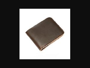 Handmade Retro Wallet Men Cow Leather Men's Wallet Male Short Money Purse for Men Crazy Horse Leather Small Male Portomonee
